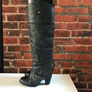 9299a6931 ⚡️SAM EDELMAN LEATHER KNEE HIGH BOOTS⚡️